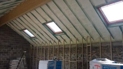 Isolation de toiture : fin des travaux