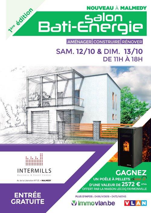Le salon Bati-Energie à Malmedy avec Isolpur